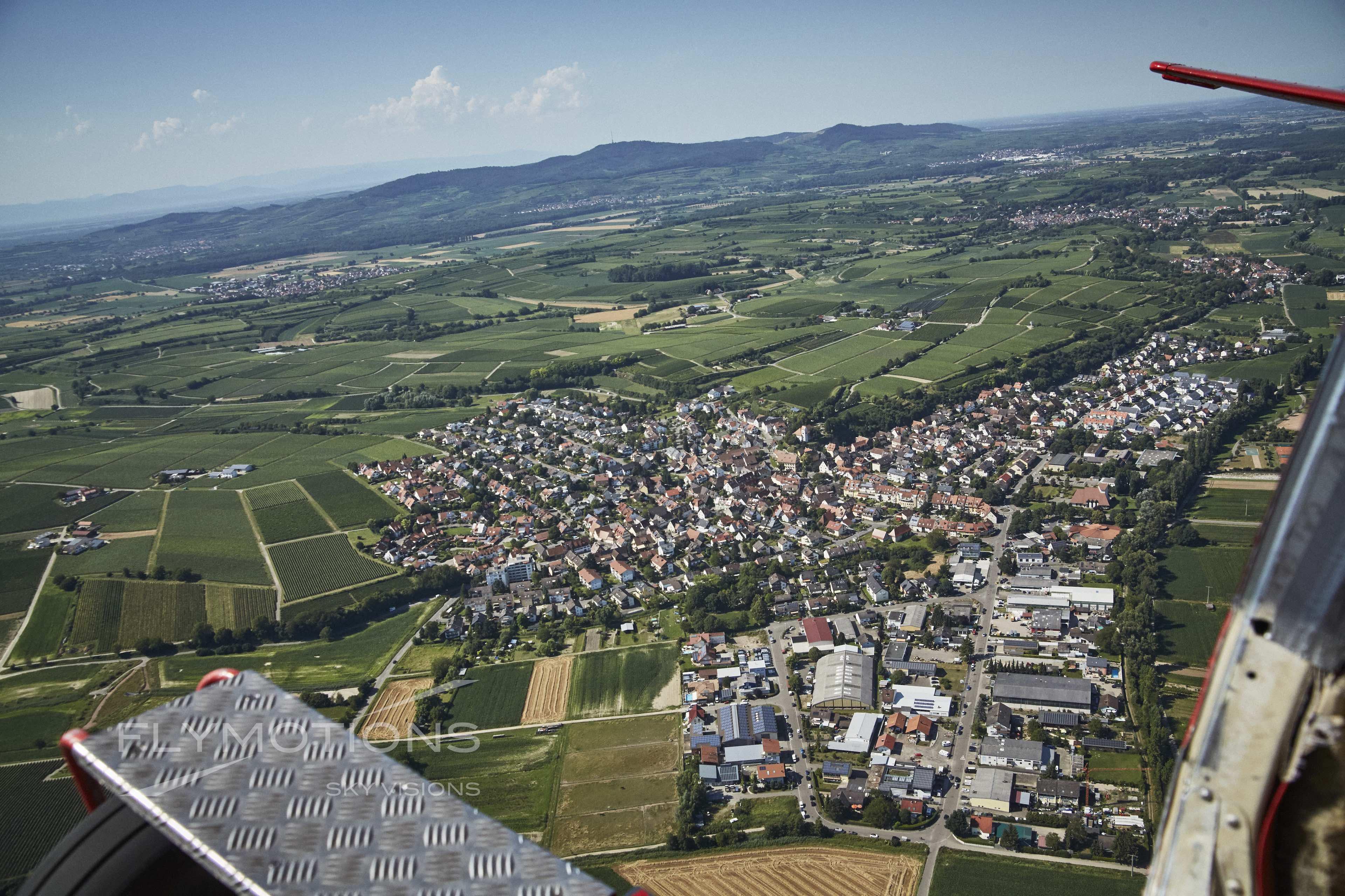 Luftaufnahme Freiburg-Opfingen
