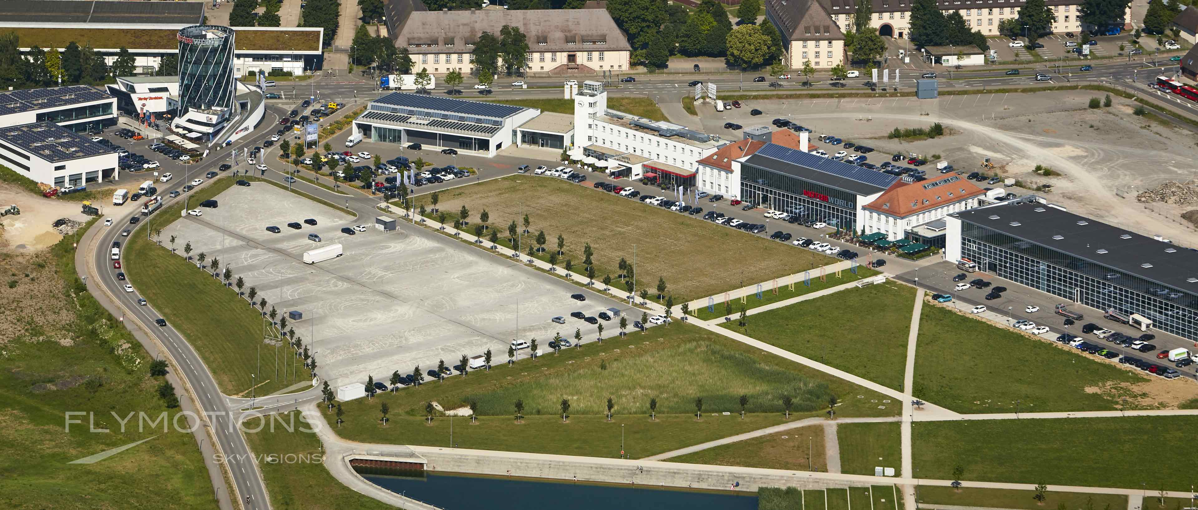 Luftaufnahme Boeblingen / Böblingen altes Flugfeld