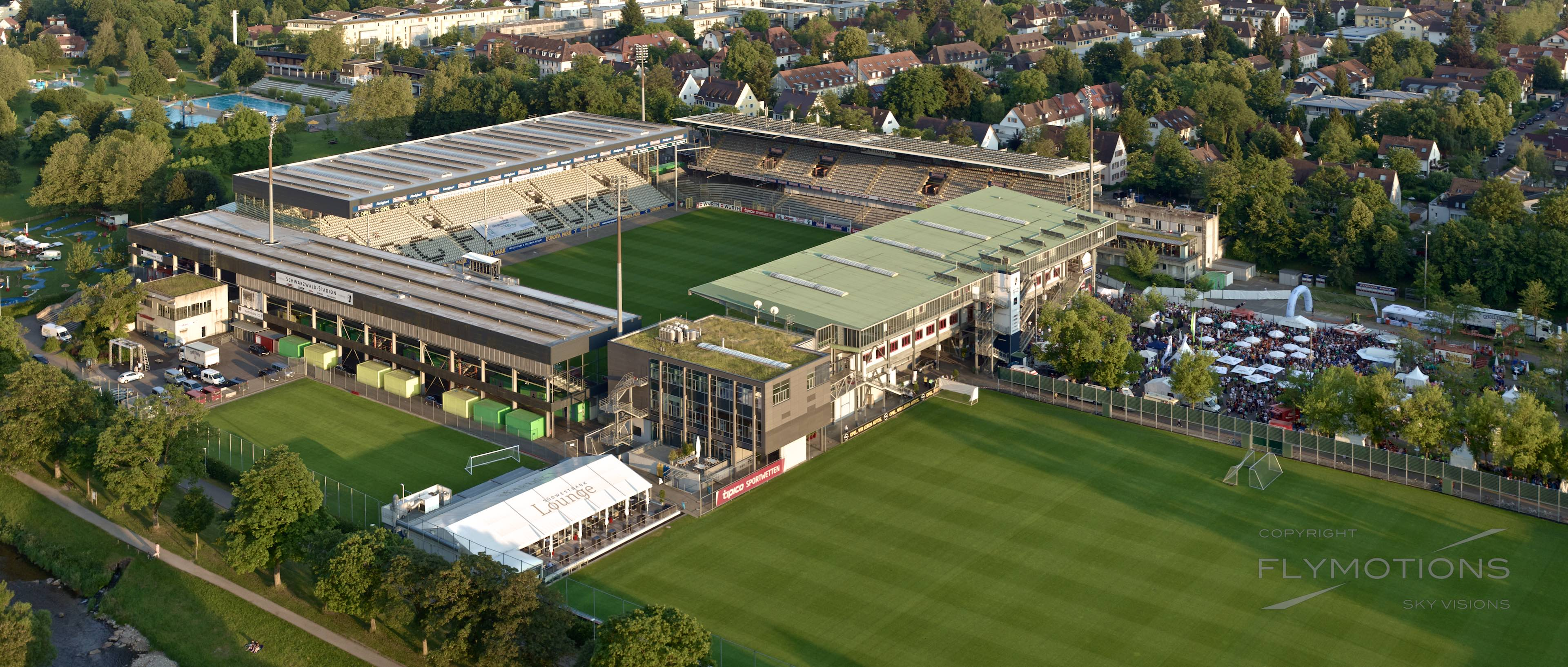 Fußballstadion des Sportclub Freiburg